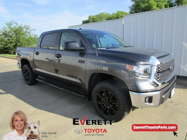 2019 Toyota Tundra SR5 5.7L V8 Truck CrewMax For Sale in Paris, TX