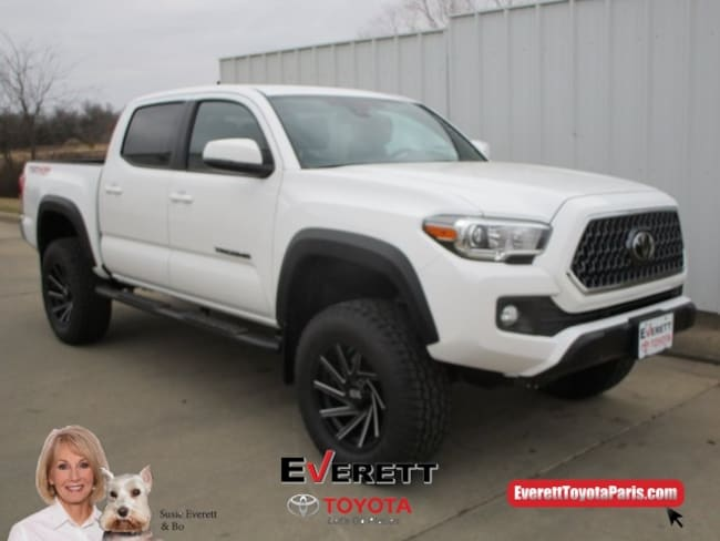 2019 Toyota Tacoma TRD Off Road V6 Truck Double Cab For Sale in Paris, TX