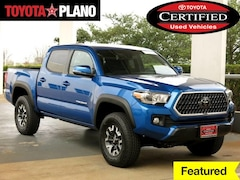 Certified 2018 Toyota Tacoma TRD Off Road Pickup Truck near Dallas, TX