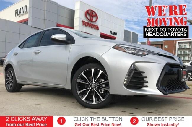 New 2019 Toyota Corolla SE Sedan near Dallas, TX