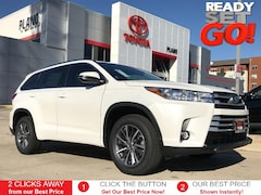 New 2019 Toyota Highlander XLE V6 SUV near Dallas, TX