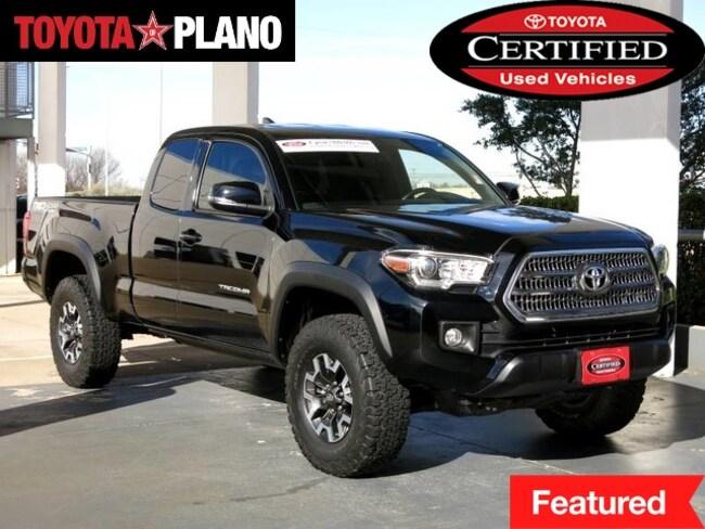 Used 2016 Toyota Tacoma TRD Off Road Pickup Truck near Dallas, TX