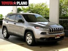 Used 2014 Jeep Cherokee Sport SUV near Dallas, TX
