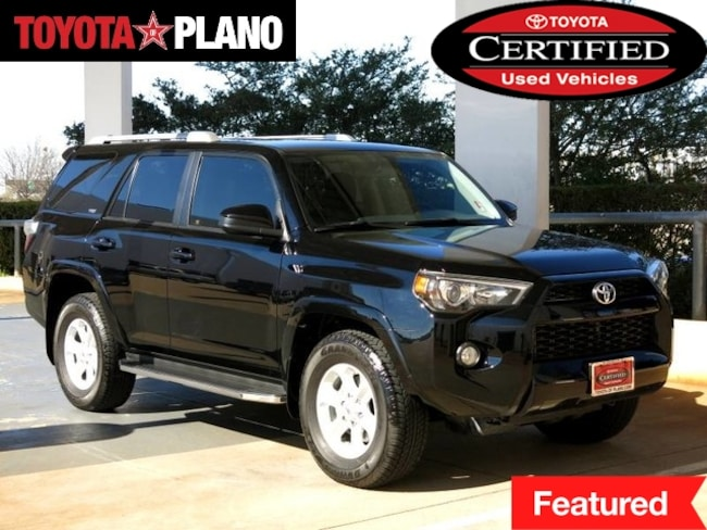 Certified 2016 Toyota 4Runner SR5 SUV near Dallas, TX