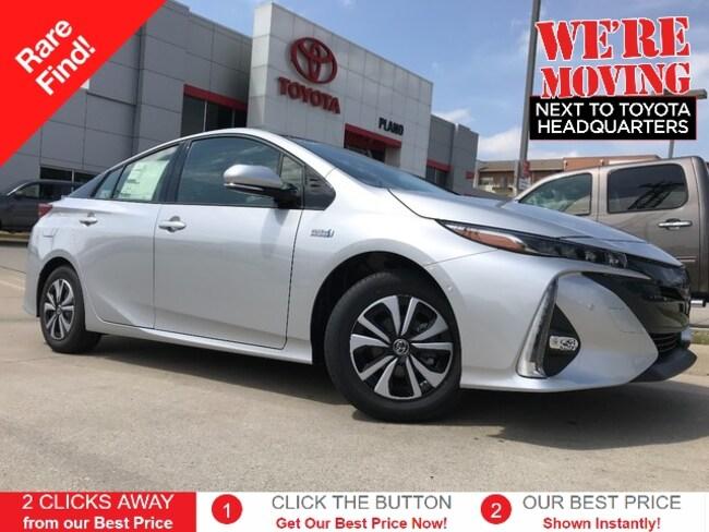 New 2018 Toyota Prius Prime Advanced Hatchback near Dallas, TX