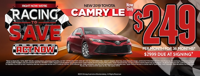 New Toyota Specials At Toyota Of Plano In Texas Near Dallas
