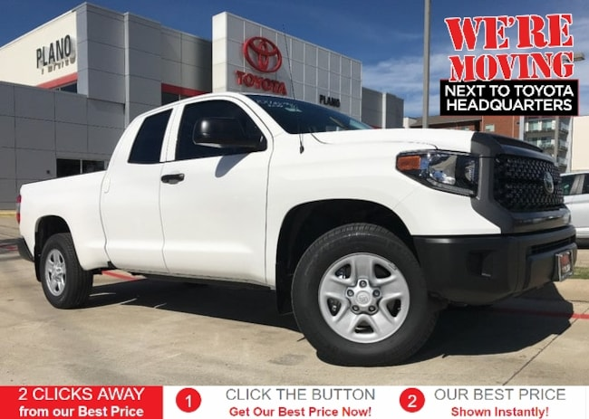 New 2019 Toyota Tundra SR 4.6L V8 Truck Double Cab near Dallas, TX