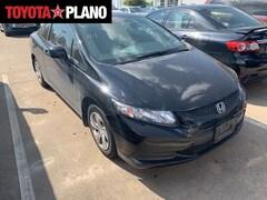 Used 2013 Honda Civic LX Coupe near Dallas, TX