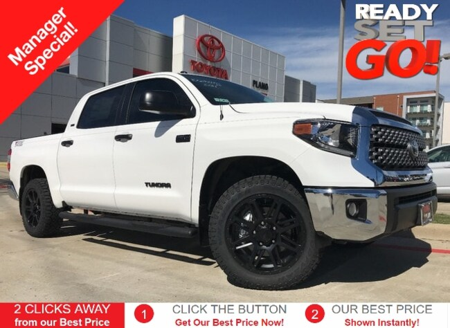 New 2019 Toyota Tundra SR5 5.7L V8 Special Edition Truck CrewMax near Dallas, TX