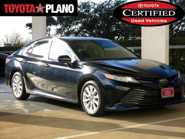 Certified 2018 Toyota Camry LE Sedan near Dallas, TX