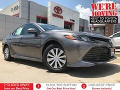 New 2019 Toyota Camry Hybrid LE Sedan near Dallas, TX