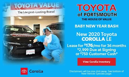 January New Toyota Corolla Offer