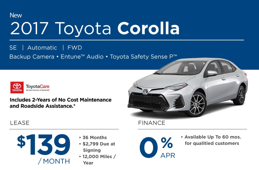 2017 Toyota Corolla Special in Portsmouth