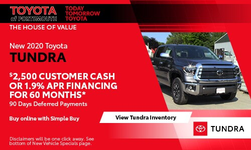 June New Toyota Tundra Offer