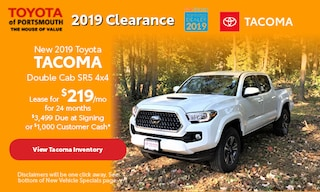 November New 2019 Toyota Tacoma Offer