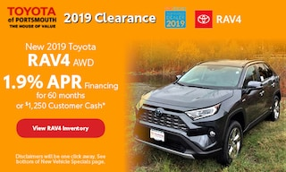 November New 2019 Toyota RAV4 Offer
