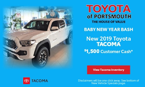 January New Toyota Tacoma Offer