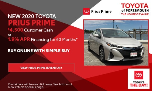 September New Toyota Prius Prime Offer