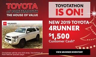 December New Toyota 4Runner Offer