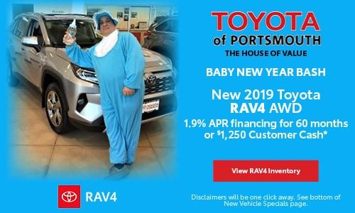 January New Toyota RAV4 Offer