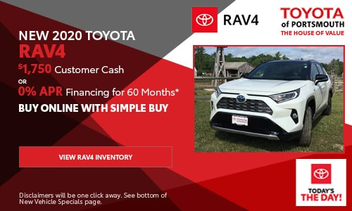 September New Toyota RAV4 Offer
