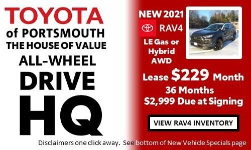 January AWD HQ Toyota RAV4 Offer