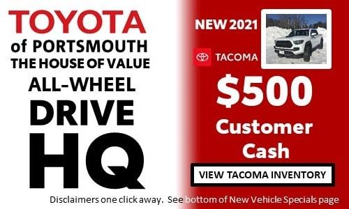 January AWD HQ Toyota Tacoma Offer