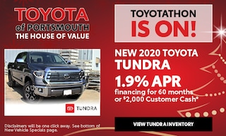 December New Toyota Tundra Offer