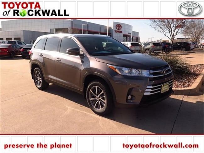 New 2019 Toyota Highlander XLE V6 SUV For Sale/Lease Rockwall, TX