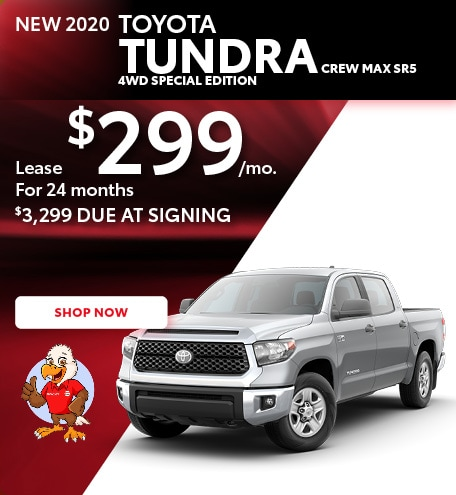 New 2020 Toyota Tundra Crew Max SR5 4WD Special Edition