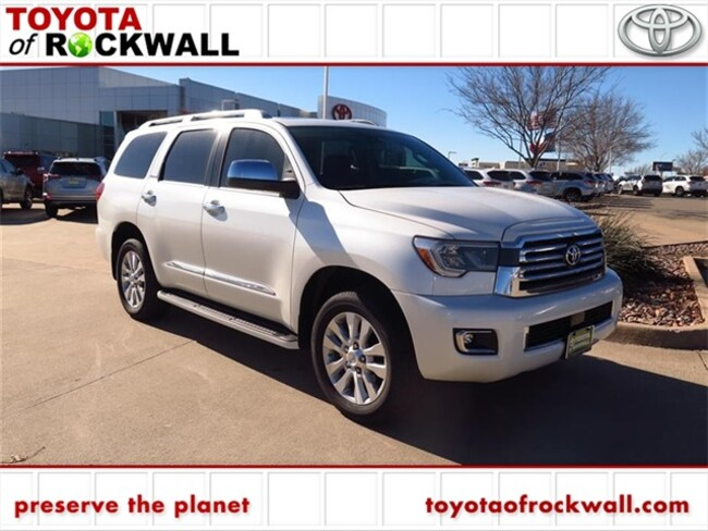 New 2019 Toyota Sequoia Platinum SUV For Sale/Lease Rockwall, TX