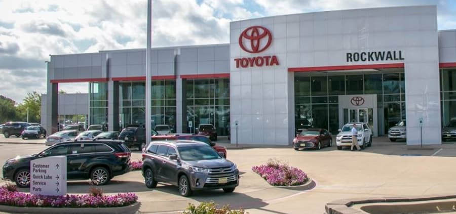 Toyota Dealer Near Sunnyvale TX
