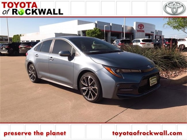New 2020 Toyota Corolla SE Sedan For Sale/Lease Rockwall, TX