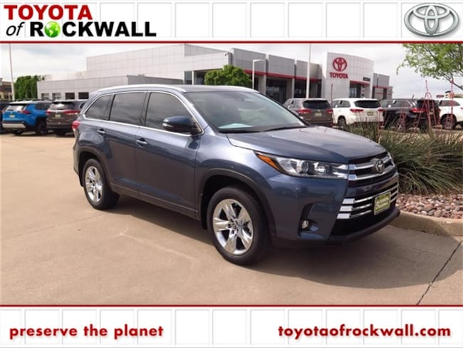 New 2019 Toyota Highlander Limited V6 SUV For Sale/Lease Rockwall, TX