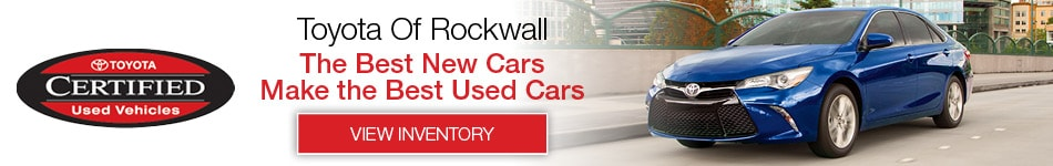 Toyota Of Rockwall >> Used Toyota Cars Rockwall Tx Serving Dallas Richardson