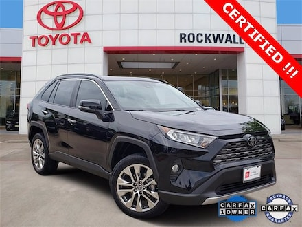 Used 2019 Toyota RAV4 Limited SUV For Sale in Rockwall, TX