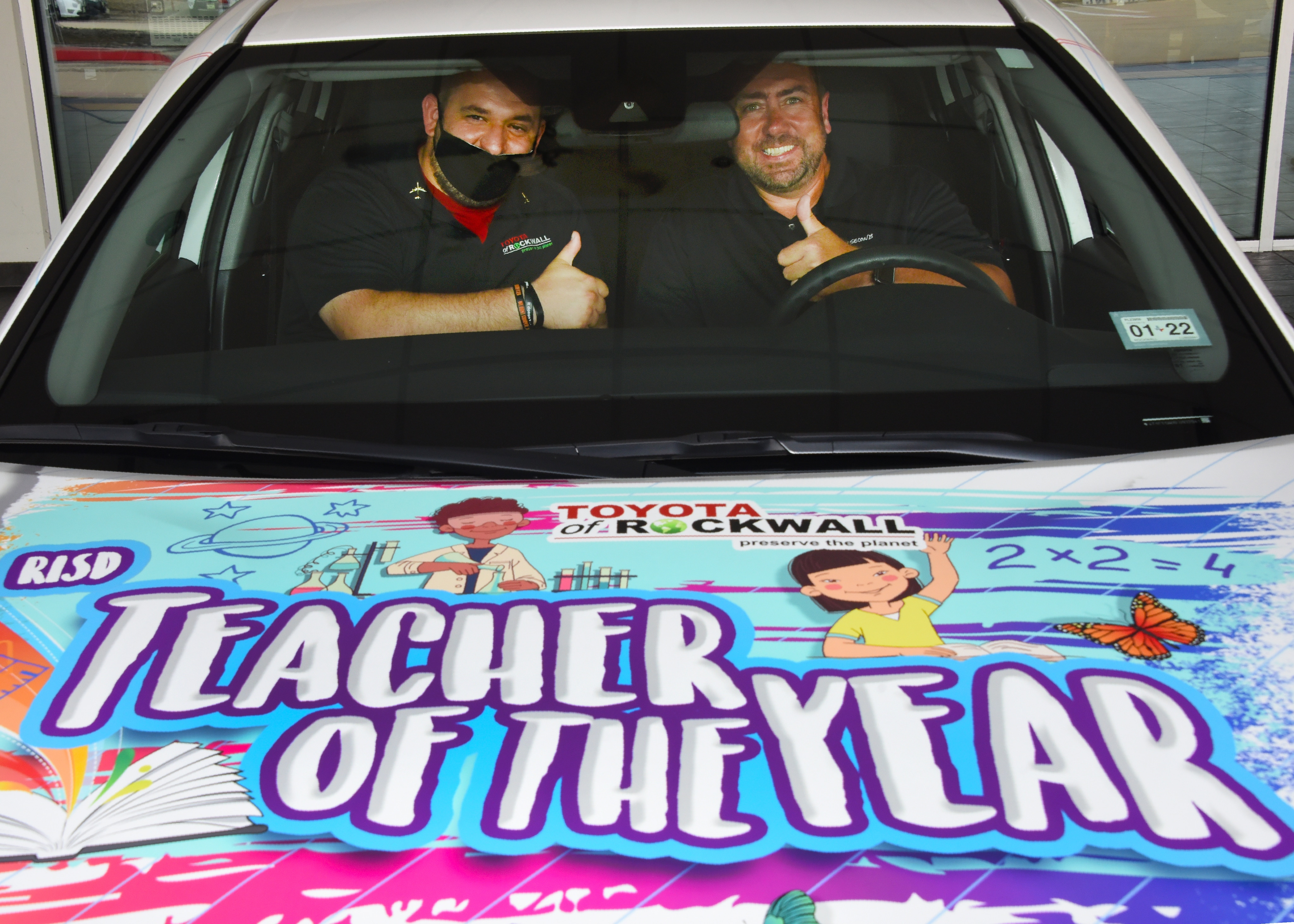 Teacher of the Year at Toyota of Rockwall