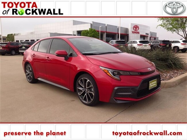New 2020 Toyota Corolla SE Sedan For Sale/Lease Rockwall, TX