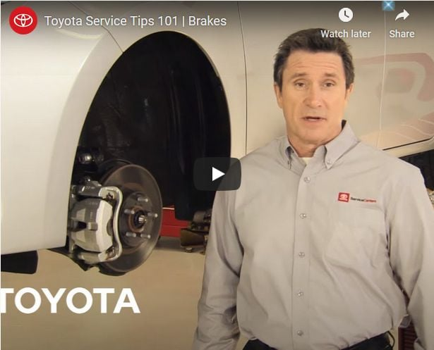 Toyota Brake Repair Near Mesquite TX