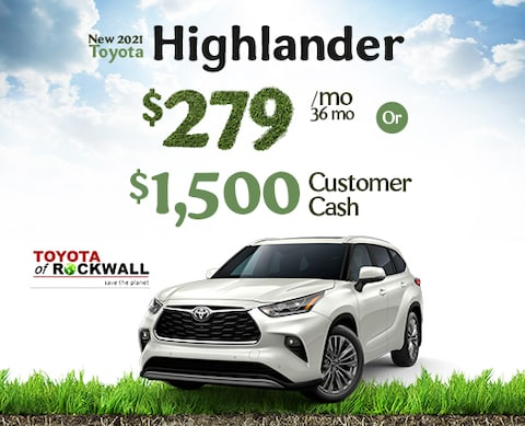 New 2021 Toyota Highlander Sale
