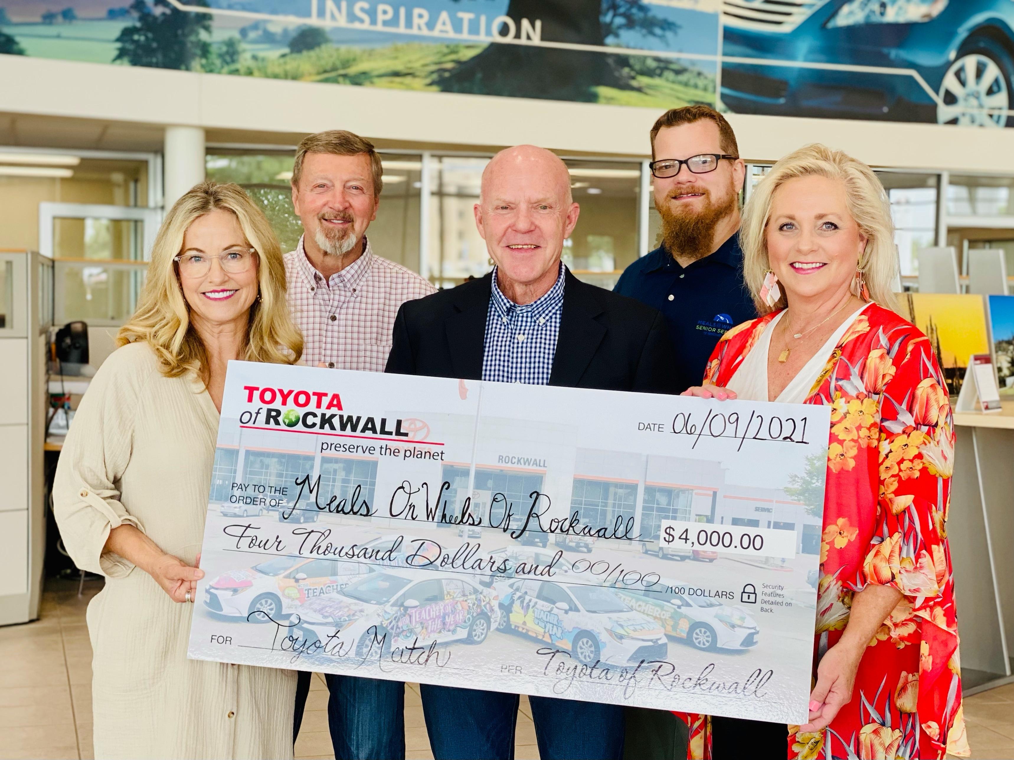 Toyota of Rockwall Grants