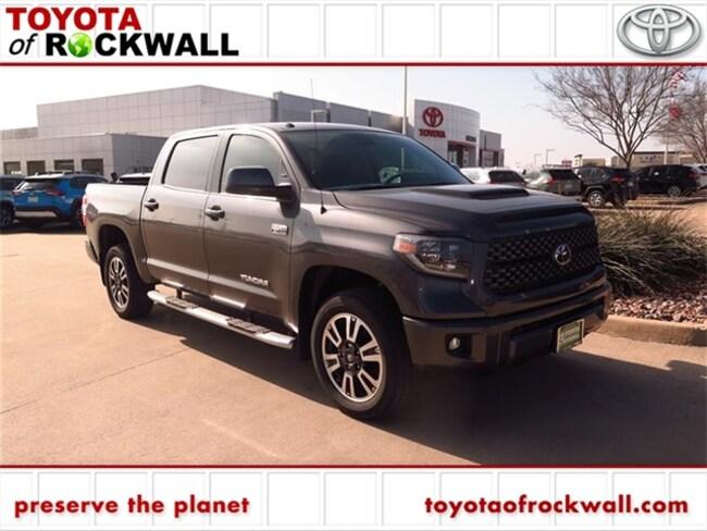 New 2019 Toyota Tundra SR5 5.7L V8 w/FFV Truck CrewMax For Sale/Lease Rockwall, TX