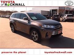 Certified 2018 Toyota Highlander LE SUV in Rockwall, TX