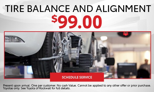 Toyota Wheel Alignment Near Forney TX