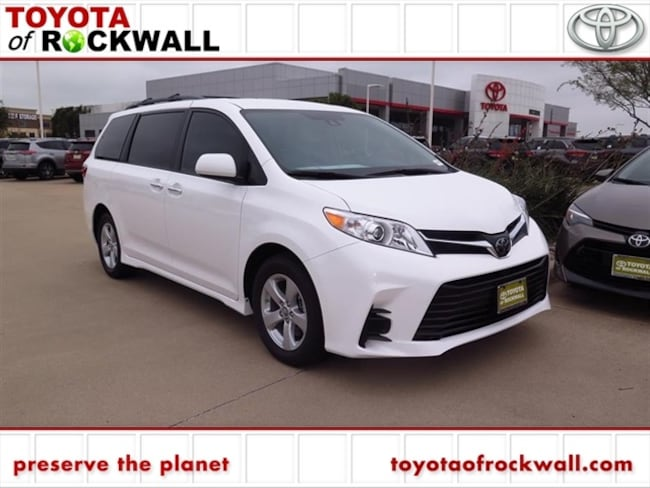 New 2019 Toyota Sienna LE 8 Passenger Van For Sale/Lease Rockwall, TX