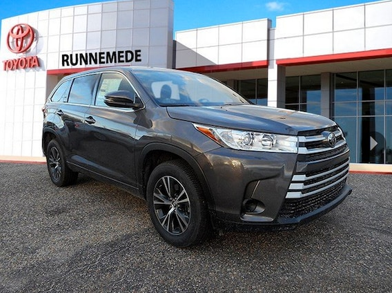 Toyota Highlander Lease >> Toyota Highlander Lease Special Toyota Of Runnemede