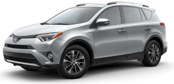 Toyota Rav4 Hybrid AWD SUV lease offer at Toyota of Santa Barbara
