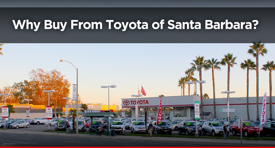 Exterior picture of Toyota of Santa Barbara in Goleta, CA