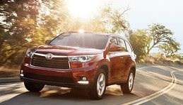Get a brochure for a 2016 Highlander
