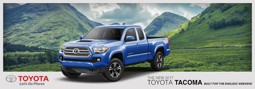 The New 2017 Toyota Tacoma